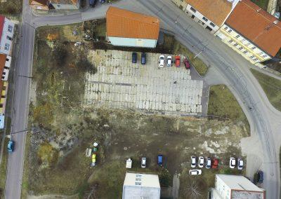 letecky pohled prodej bytu Miroslav u Znojma